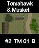 House#2 TOMAHAWK & MUSKET Series for Skirmish rules