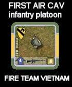 FTV FIRST AIR CAV Infantry Platoon for FIRE TEAM VIETNAM