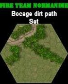 FTN Bocage dirt path SET#1 for Fire Team NORMANDIE