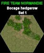 FTN Bocage Hedgerow SET#1 for Fire Team NORMANDIE