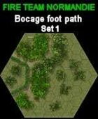 FTN Bocage Foot path SET#1 for Fire Team NORMANDIE