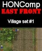 HONComp EAST FRONT Village Set #1