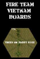 FIRE TEAM : VIETNAM Boards Trees on Paddy dike