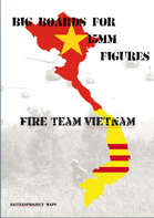 FIRE TEAM : VIETNAM Big Boards Trees on Paddy dike