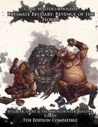 Ultimate Bestiary: Revenge of the Horde - Bugbears, Ogres, and Trolls Encounter Deck (5E)