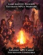 Ultimate NPCs: Warfare Generic NPC Cards