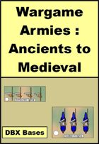 Ancient and Medieval Wargame Counters