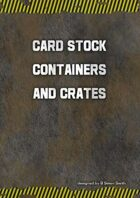 Card Stock Cargo Containers