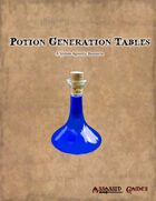 Potion Generation Tables