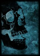 RPS Cards: Blue Flame Skull