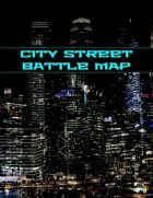 City Street Battle Map