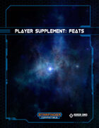 Player Supplement: Feats (Starfinder)