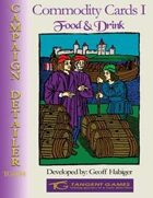Commodity Cards I: Food and Drink