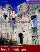 Castle Ruins: A Hand-Crafted Map