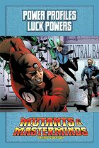 Mutants & Masterminds Power Profile #11: Luck Powers