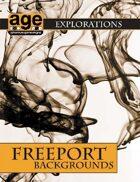 AGE Explorations: Freeport Backgrounds