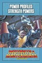 Mutants & Masterminds Power Profile #22: Strength Powers