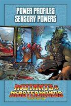 Mutants & Masterminds Power Profile #23: Sensory Powers