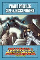 Mutants & Masterminds Power Profile #24: Size & Mass Powers