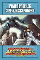Mutants & Masterminds Power Profile #24: Size & Mass Powers