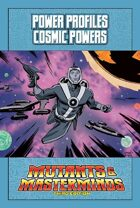 Mutants & Masterminds Power Profile #34: Cosmic Powers