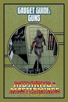 Mutants & Masterminds Gadget Guide: Guns