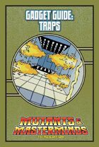 Mutants & Masterminds Gadget Guide: Traps