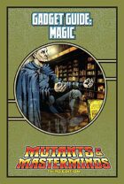 Mutants & Masterminds Gadget Guide: Magic