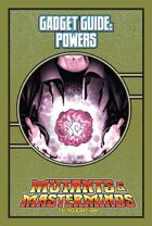 Mutants & Masterminds Gadget Guide: Powers