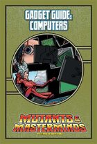 Mutants & Masterminds Gadget Guide: Computers
