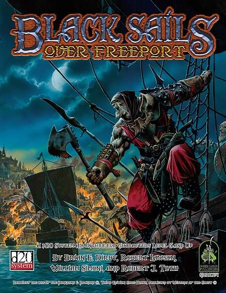 Cover of Black Sails Over Freeport