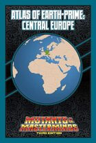 Mutants & Masterminds Atlas of Earth-Prime: Central Europe