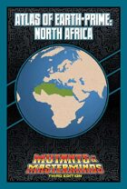 Mutants & Masterminds Atlas of Earth-Prime: North Africa