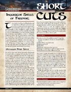 Pathfinder Short Cuts: Inquisitor Spells of Freeport
