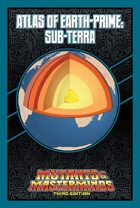 Mutants & Masterminds Atlas of Earth-Prime: Sub-Terra