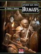 Advanced Race Codex: Humans