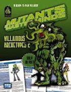 Mutants & Masterminds Villainous Archetypes 2