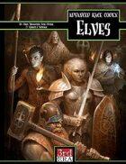 Advanced Race Codex: Elves (d20 3.5)