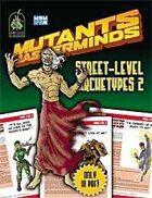 Mutants & Masterminds Street-Level Archetypes 2
