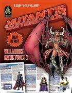 Mutants & Masterminds Villainous Archetypes 3