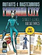 Mutants & Masterminds Freedom City Street-Level Archetypes