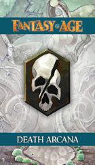 Fantasy AGE Spell Cards - Death Arcana