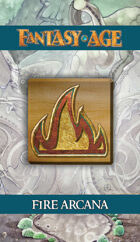 Fantasy AGE Spell Cards - Fire Arcana