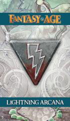 Fantasy AGE Spell Cards - Lightning Arcana