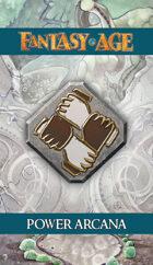 Fantasy AGE Spell Cards - Power Arcana