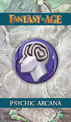 Fantasy AGE Spell Cards - Psychic Arcana