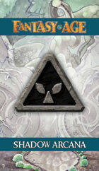 Fantasy AGE Spell Cards - Shadow Arcana