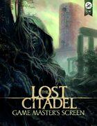The Lost Citadel Game Master's Screen (5E)