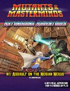 Astonishing Adventures - NetherWar 1: Assault on the Nerian Nexus