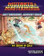 Astonishing Adventures - NetherWar 4: Bound by Gold